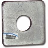 DIN 436 M12 feuerverzinkt Vierkantscheibe für Holzkonstruktionen