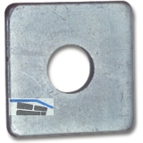 DIN 436 M10 verzinkt Vierkantscheibe für Holzkonstruktionen
