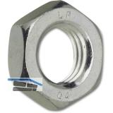 DIN 439-2 04 M10 verzinkt flache Sechskantmutter