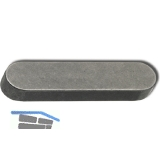 DIN6885A C45K 20x12x 36  blank Passfeder rundstirnig