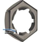 DIN7967 M12 feuerverzinkt Sicherungsmutter (Palmutter)