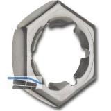 DIN7967 M10 verzinkt Sicherungsmutter (Palmutter)