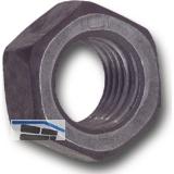 ISO4032 M 5 Aluminium blank Sechskantmutter