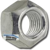 DIN 980V/ 8 M 4 verzinkt Sicherungsmutter Ganzmetall