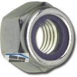 DIN 982/ 8 M 4 verzinkt Sicherungsmutter hohe Form mit Polyamideinlage