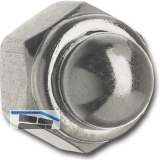 DIN 986/ 8 M 5 verzinkt Sicherungs-Hutmutter mit Klemmteil