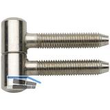Anuba Einbohrband, Band-ø 11 mm, Stahl vern.