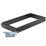 1 x A4+R Alu-F. KB 600 mm HETTICH SYSTEMA TOP 2000 Hängeregistratur-Rahmen