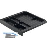 HETTICH SMARTRAY Materialschale; Höhe: 40 mm; Kunststoff schwarz