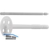 DSH 10x110K Dämmstoffhalter für Plattenstärke  60- 70 mm mit Kunststoffnagel