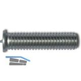 ISO13918-1 SZ M 5x10 Aluminium AlMg3 Schweißbolzen mit Spitzenzündung