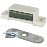SECOTEC Magnetschnapper 4-5kg Kunststoff weiß SB-10 BL5