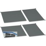 PEKA LIBELL Antirutschmattenset zu MC Standard Einhängetablarset 450 mm, grau