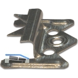 Profilholzkralle Nr. 3 Stahlband-verzinkt für Nut/Feder-Montage (1 PK=250 Stk.)