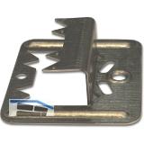 Profilholzkralle Nr. 4 extra stark Stahlband-verzinkt für Nut/Feder-Montage
