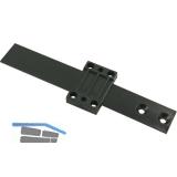 Ersatz-Schleppscharnier für Serie RH (außer 131/141) schwarz, Kunststoff