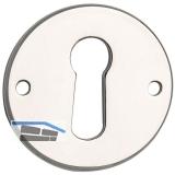 SECOTEC Schlüsselschild 25 mm vermessingt SB-1