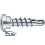 SFS Tragehilfe Schraube mit Bohrspitze 6x20 - Stahl verzinkt-blau