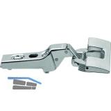 BLUM CLIP Standardscharnier 100°, 9,5mm gekröpft, mit Feder, INSERTA