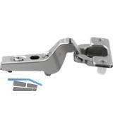 BLUM CLIP Standardscharnier 100°, 18mm gekröpft, mit Feder,Einpressen