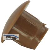 TD1 Türanschlagdämpfer zum Einbohren, Ø9 x 1,5, Bohrmaß: ø5 x 6,weich, KS braun