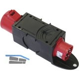 Übergangs-Steckvorrichtung Kunststoff 16/32 Ampere 400 Volt IP44