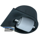 Roller-Mini BSR Bohrsenkrolle soft Radüberstand 1 mm, ø 25 mm,Kunststoff schwarz