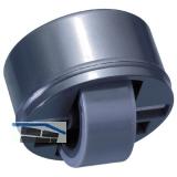 Roller-Mini soft, Rollen ø 27 mm, Bohr ø 36 mm, Kunststoff schwarz