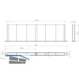 Profilkanal FRESH 33, Kunststoff RAL 9016