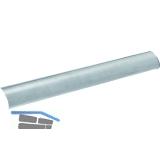 Griffrohr 7100 für Stangengriff, 1150 mm, silber eloxiert