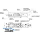 EMF-Einheit für 1- und 2-flg. EMF/EMR-Gleitschienen zu TS 93