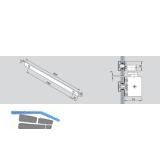 Oberlichtbefestigung Gleitschiene TS 92, silber
