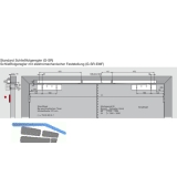 Gleitschiene GSR-EMF1-V, silber