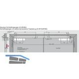 Gleitschiene GSR-EMF2-V/BG, silber