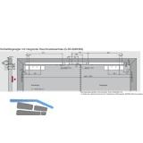 Gleitschiene GSR-EMR2-V/BG, silber