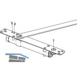 Türschließer DORMA integiert ITS 96 2-4, Flügelb.-1100 mm, Achse 4 mm verlängert