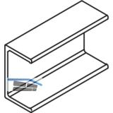 EKU COMBINO 20/35 H Clip-TeiL - gelocht, für Holzblende