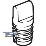 EKU CLIPO 15 Bodenführung, Kunststoff anthrazit