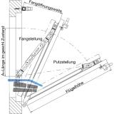 Fang- und Putzschere GEZE FPS, Größe 1, Stahl verzinkt