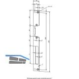 Flachschließblech HZ, 25 x 250 x 3 mm, 02135-01, Edelstahl
