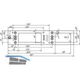 Montageplatte für TS 4000/5000, RAL 9016