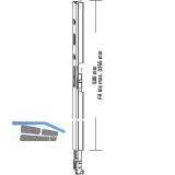 GU-937/934 HS Getriebeverlängerung, L=500 mm, Alu silber eloxiert