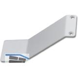 Gleitwinkel, Breite 60 mm, Länge 160 mm, Stahl weiß