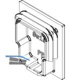 Abdeckkappe für Laufschiene HAWA-Junior 40, Kunststoff RAL 7016