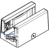Bodenführung HAWA spielfrei  2-teilig, 8-12,7 mm, Edelstahl-Effekt
