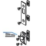 Schließplatte HAWA-Toplock für Wandanschlussprofil