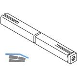 HEWI Drückerstift geteilt 72.3 R - VK 9 mm, 19,1-29 x 19,1-29 mm, Stahl verzinkt