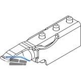 Schienenpuffer HAWA-Junior 80 mit einstellbarer Rückhaltefeder