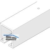 Laufschiene HAWA-Junior 160, 3000 mm, Aluminium farblos eloxiert