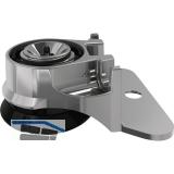 Höhenversteller Integrato Höhe 19 mm, Zinkdruckguss/Kunststoff schwarz